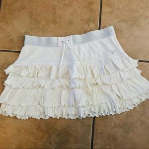 Justice White girls skirt size 16